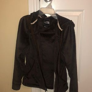 Women's Brown North Face Jacket
